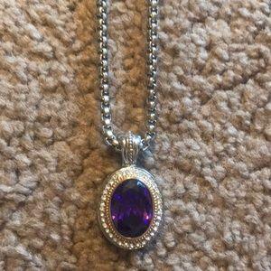 Jewelry - Costume jewelry necklace. Crystal CZ
